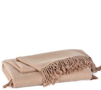 Berkshire Blanket Cashmere & Rayon Made FromBamboo Throw - H289953
