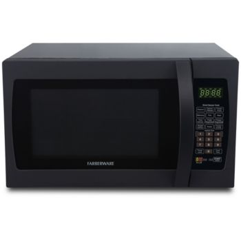 Farberware Pro 1.3 Cu. Ft. Microwave w/ Smart Sensor - Black
