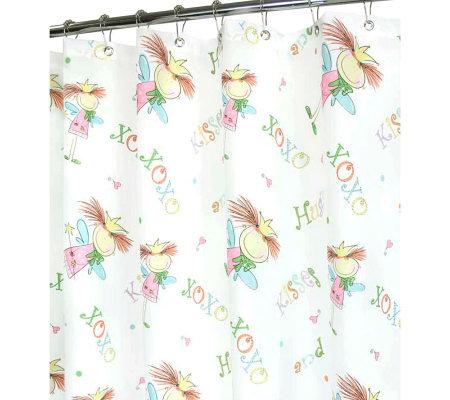 Watershed 2-in-1 Fairy Luv 72x72 Shower Curtain