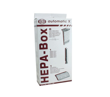 Sebo HEPA Service Box for X-Series Vacuum Cleaners