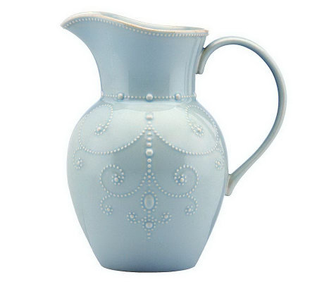 Lenox French Perle Large Pitcher