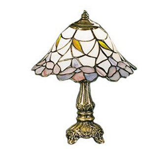 "Tiffany Styled 12""H Daffodil Bell Lamp - H58153"