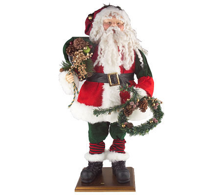 "30"" Collapsible Standing Santa Claus"