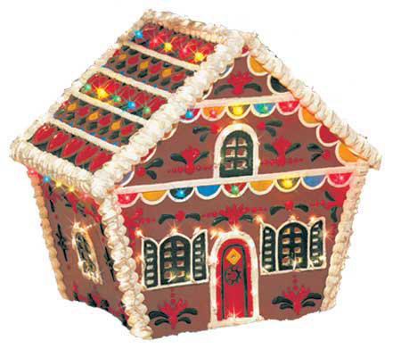Gingerbread House Outdoor Decoration