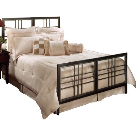 Hillsdale Furniture Tiburon Twin Bed - Magnesium Pewter Finish
