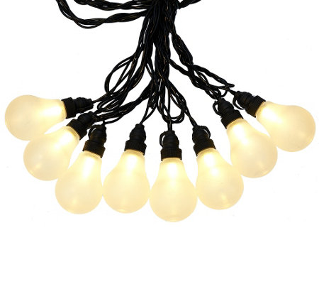 """As Is"" Bethlehem Lights 19' Plug In Vintage Light Strand"