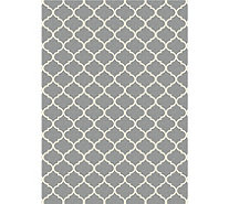 Ruggable Moroccan Trellis 5'x7' 2pc Washable Rug System - H212854
