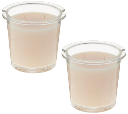 HomeWorx by Harry Slatkin S/2 Scented Candle Drop-In Refills