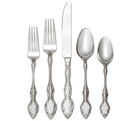 Oneida Mikayla 18/0 Stainless Steel 45-Piece Set