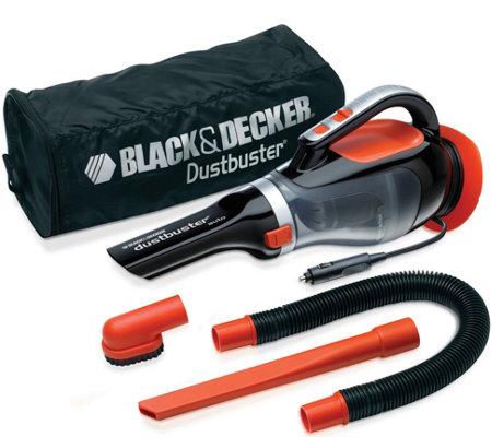 Black Amp Decker 12v Dustbuster Car Vac Qvc Com