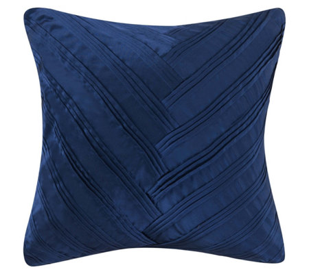 Vince Camuto Lyon Square Signature V Pleated Pillow