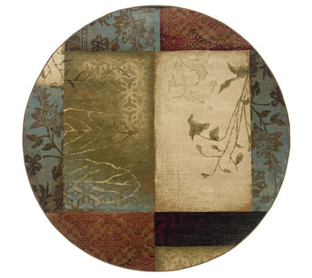 "Sphinx Collage 7'8"" Round Rug by Oriental Weavers"