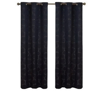 "Eclipse 42"" x 84"" Meridian Blackout Window Curtain Panel - H367554"