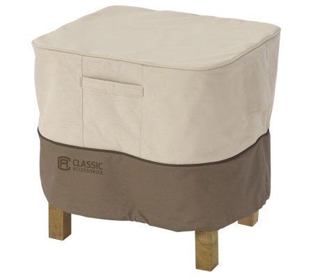 Veranda Square Ottoman/Table Cover-Lrg-by Classic Accessories