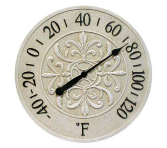 Blanc Fleur Thermometer by Infinity - H149455