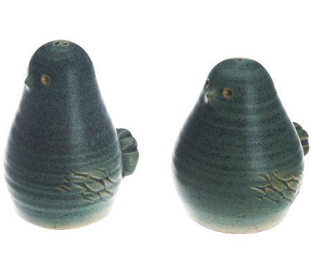 Ballymorris Corncrake Bird Salt And Pepper Shakers Page