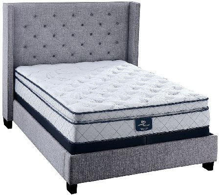 "Serta Perfect Sleeper Harmonize 12"" SQ Pillow Top Mattress Set"