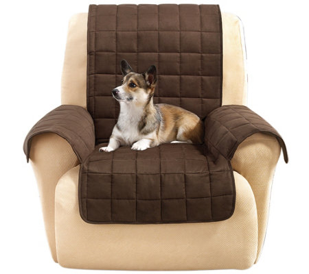 Sure Fit Furniture Cover Recliner with Memory Foam Seat