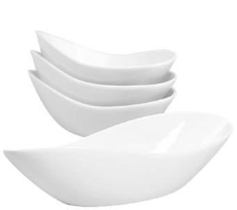 Denmark Tools for Cooks Oval Individual Bowls -Set of 4 - H284155