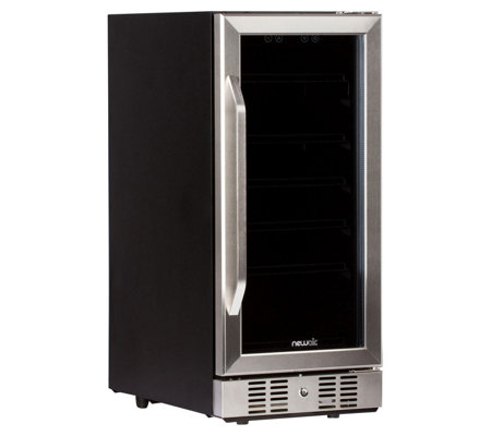 NewAir 96-Can Built-In Beverage Cooler - Stainless Steel