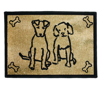Dog Friends 19x13 Tapestry Rug - H349255
