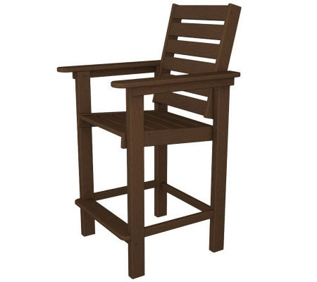 POLYWOOD Captian Counter Chair