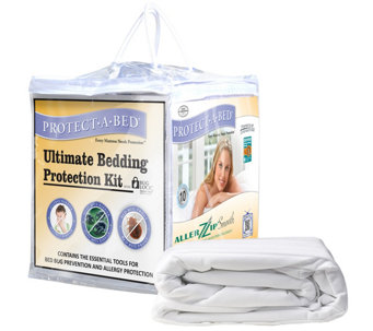 Protect-A-Bed Ultimate/Bed Bug King ProtectionKit - H355055