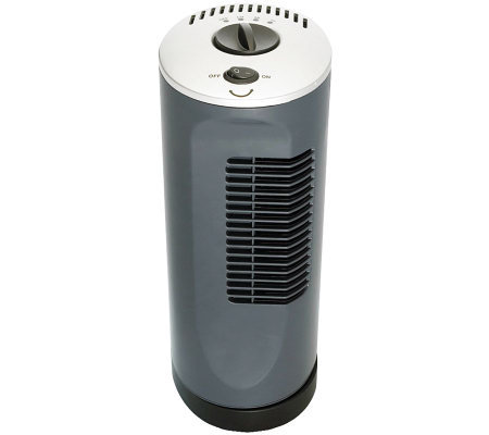 "Optimus F-7320 12"" Desktop Ultra-Slim Tower Fan"