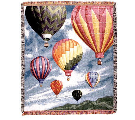 Hot Air Balloon Throw by Simply Home