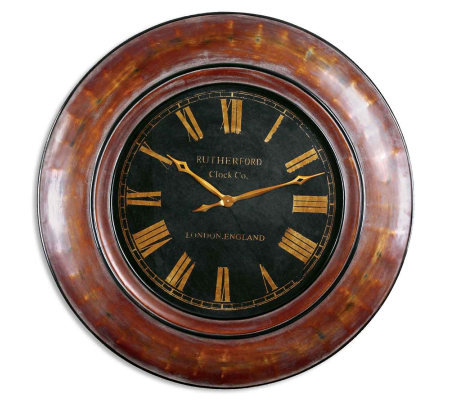 Tyrell Clock by Uttermost