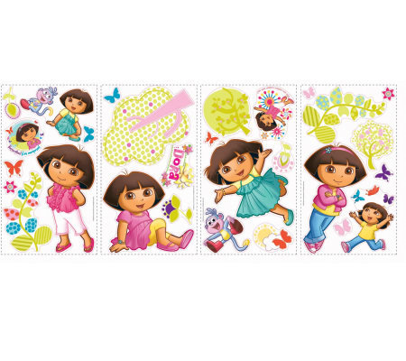 RoomMates Dora the Explorer Peel & Stick Wall Decals