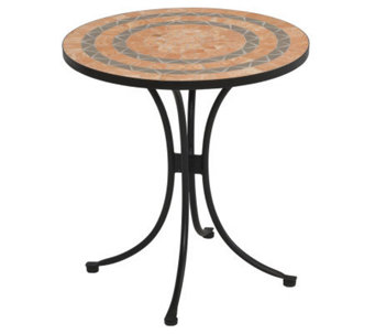 Home Styles Terra-Cotta Bistro Table - H187356