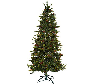 Bethlehem Lights 7.5' Heritage Spruce Christmas Tree w/Instant Power - H208556