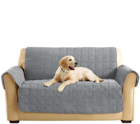 Sure Fit Furniture Cover Loveseat with Memory Foam Seat