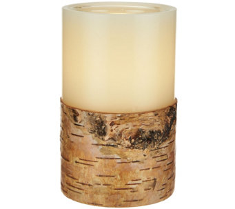 "ED On Air 5"" Dual Flame Wax Pillar Candle by Ellen DeGeneres - H209556"