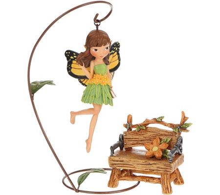 hallmark garden fairy with accessory