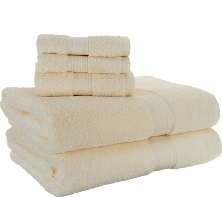 Scott Living 100% Cotton Air Rich 6 Piece Towel Set