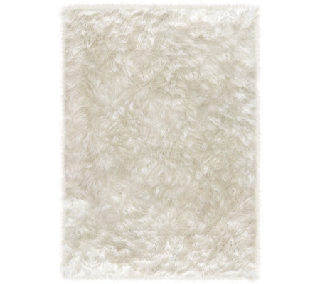 Ruggable Shag 5'x7' Area 2pc Washable Rug System