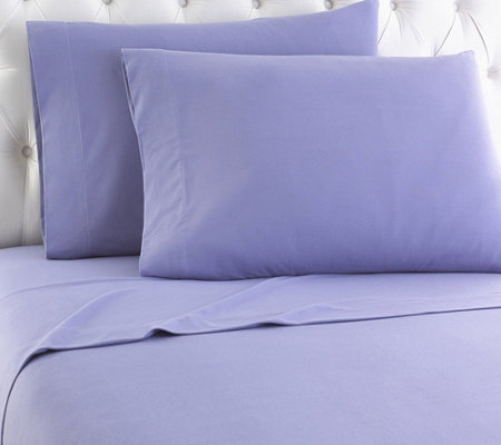 Shavel Micro Flannel(R) Solid Color Full Sheet Set