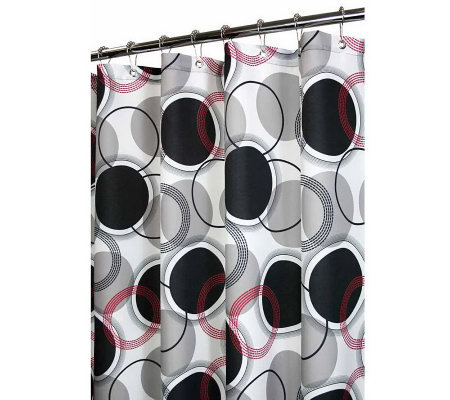 Watershed 2-in-1 Circle Central 72x72 Shower Curtain