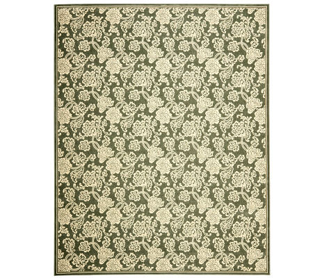Treasures Allover Floral Power-Loomed Rug - 8'x10'