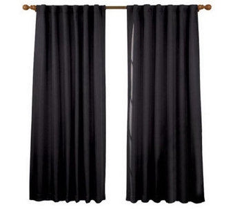 "Eclipse 52"" x 84"" Fresno Blackout Window Curtain Panel - H367556"