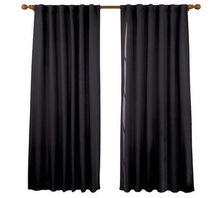 "Eclipse 52"" x 84"" Fresno Blackout Window Curtain Panel"