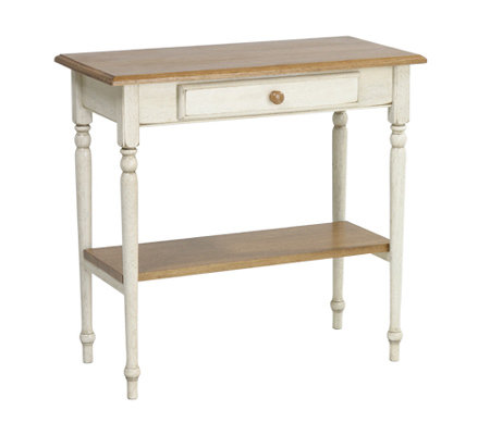 Country Cottage Solid Wood Foyer Table by Office Star