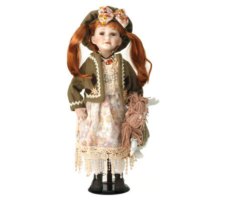 Ellis Island Collection of Porcelain Dolls - Sadie