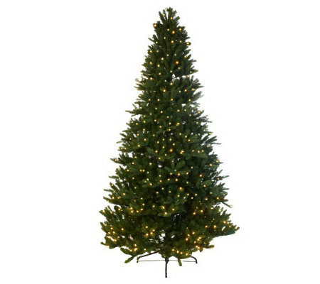Mr. Christmas Wisconsin Fir 7.5'Pre-Lit LED Tree with 5 Year LMW
