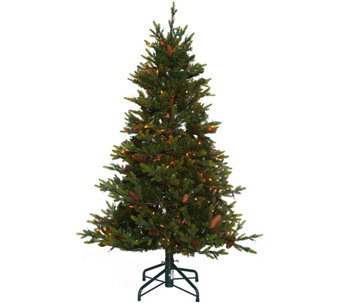 Bethlehem Lights 5' Heritage Spruce Christmas Tree w/Instant Power - H208557