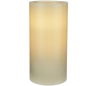 "ED On Air 7"" Dual Flame Wax Pillar Candle by Ellen DeGeneres - H209557"