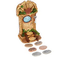 Hallmark Indoor/Outdoor Fairy Garden Door with Stepping Stones - H210157