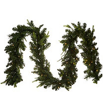 Bethlehem Lights Prelit 9' Green Garland - H212557